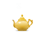 Sleepy Mouse in Teapot