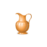 Orange Ceramic Jug