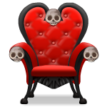 Red Skull Armchair