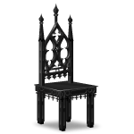 Classic Gothic Chair