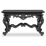 Dark Grey Gothic Table
