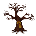 Animated Creepy Tree
