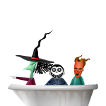Animated Bathtub with Devious Kids