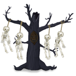 Animated Hanging Skeletons