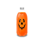 Orange Drink Bottle