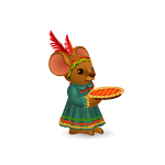 Mouse with Pie