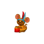 Kid Mouse with Drum