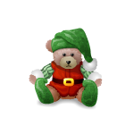 Elf Bear Plushie