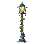 Christmas Town Lamp Post