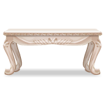 Beige Carved Rococo Inspired Table