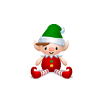 Christmas Elf Plushie