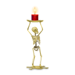 Skeleton Candle Holder 2