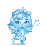 Ice Skating Fairy Sculpture