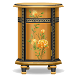 Premium Gold Chinese Side Table