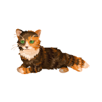 Animated Ginger and Brown Tabby Cat