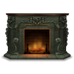 Serpent Fireplace