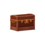 Wooden Travel Trunk