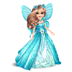 March Birthstone Aquamarine Angel