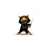 Animated Tiger Ninja Plushie