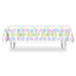 Table with Easter Eggs Tablecloth