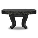 Elegant Gothic Stone Coffee Table