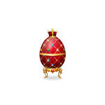 Red Petberge Egg