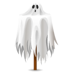 Animated Ghost Lawn Decor