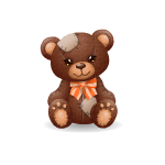 Patches Bear - Fall Edition