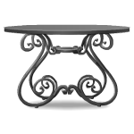 Haunted Wrought Iron Table