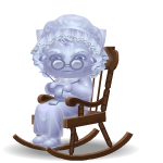 Granny's Ghost in Rocking Chair