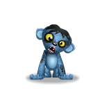 Creepy Zombie Monkey