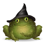 Animated Witch Toad