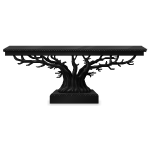 Black Gothic Tree Table