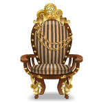 Striped Steampunk Armchair