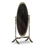 Angled Haunted Mirror