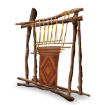 Traditional Wooden Loom