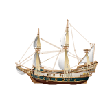 Animated Mayflower Ship