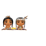 Animated Thanksgiving Indians