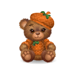 Sweet Autumn Boy Bear