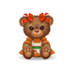 Sweet Autumn Girl Bear