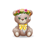 Patches Bear - Spring Edition