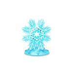 Snowflake Desktop Ornament