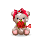 Patches Bear - Valentine's Edition