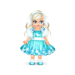 Animated Winter Doll