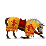 Animated Knight Horse