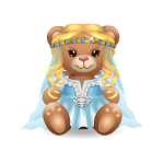 Queen Guinevere Bear Plushie