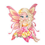 February Primrose Fairy Figurine