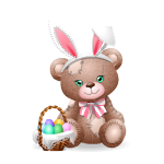Patches Bear - Easter Edition