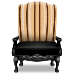 Gothic Royal Armchair