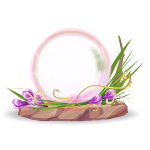 April Sweet Pea Globe